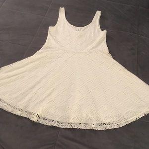 Aeropostale eyelet flowy dress
